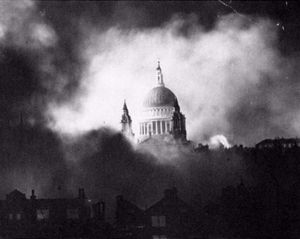 Just a few years after - the 1940/41 blitz...